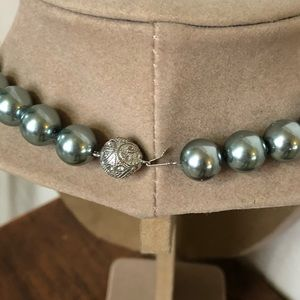 4a12a8bebeeff Chicos faux pearl necklace and earring set